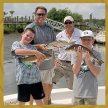 Fishing Family Group